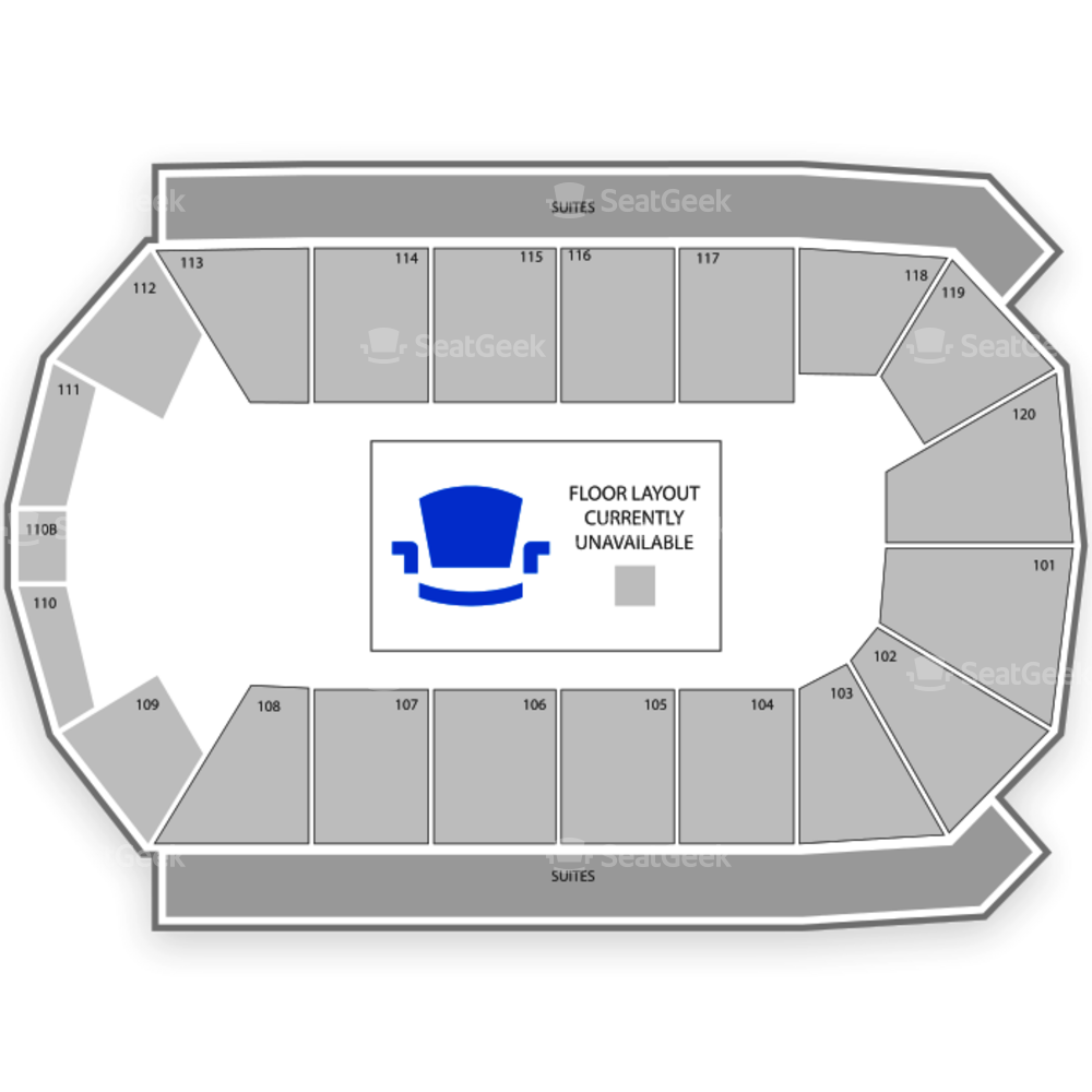 1st Bank Center Seating Chart Classical