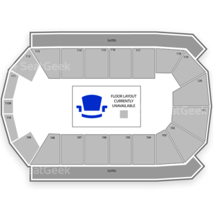 1stBank Center Seating Chart Sports
