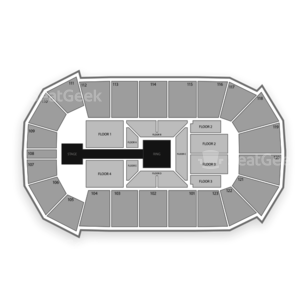 State Farm Arena Seating Chart Wrestling