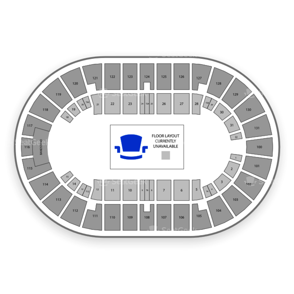 Freeman Coliseum Seating Chart Family