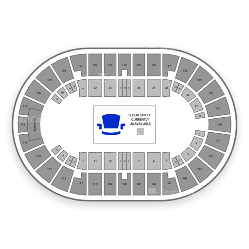 Freeman coliseum seating chart seatgeek