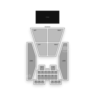 the lawn at white river seating chart interactive seat map seatgeek. Black Bedroom Furniture Sets. Home Design Ideas