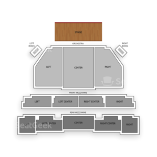 Imperial Theatre Seating Chart Concert
