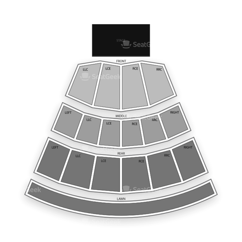 CMAC (Canandaigua, NY) Seating Chart Concert