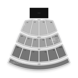 Constellation Brands Performing Arts Center Seating Chart Concert