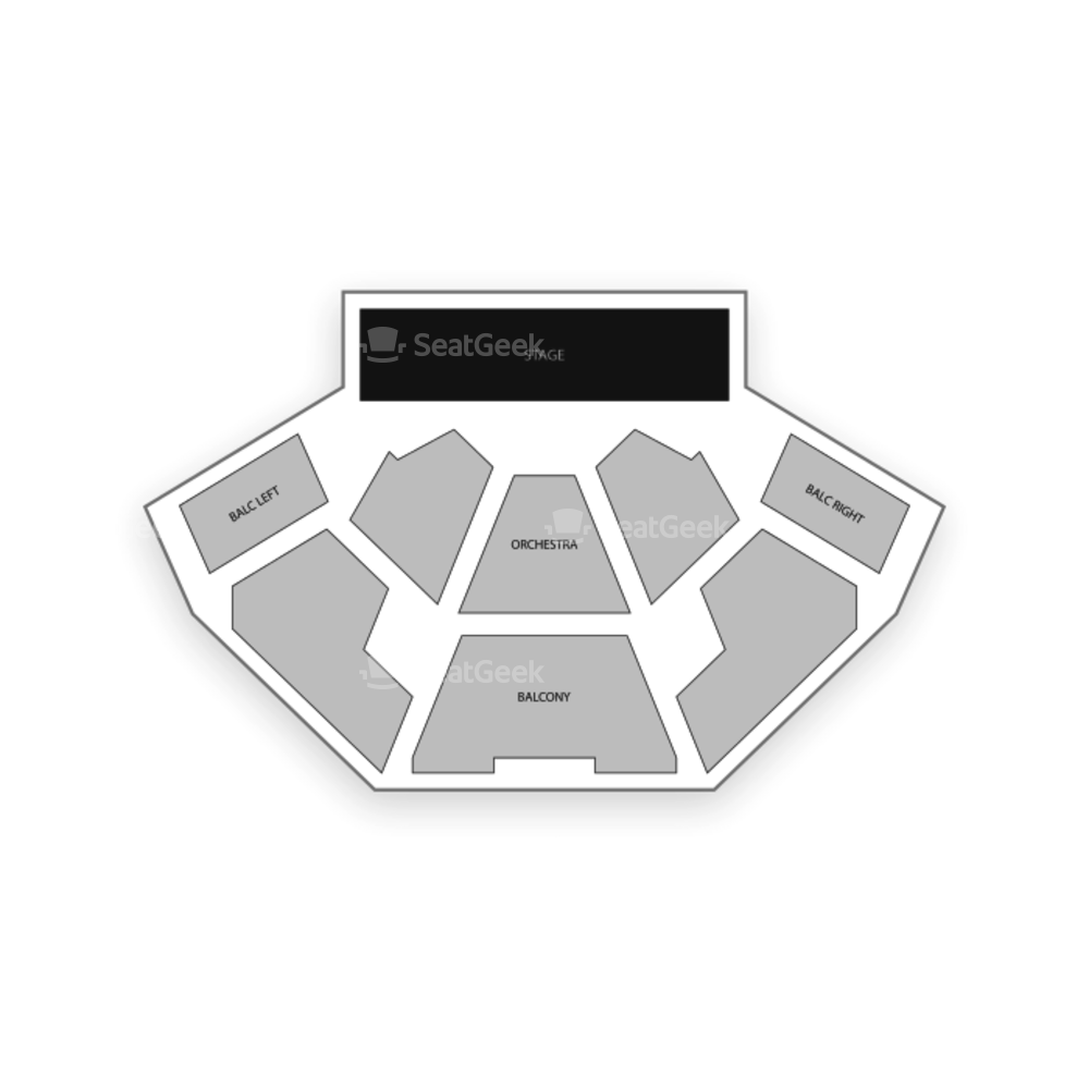 BJCC Theatre Seating Chart Dance Performance Tour