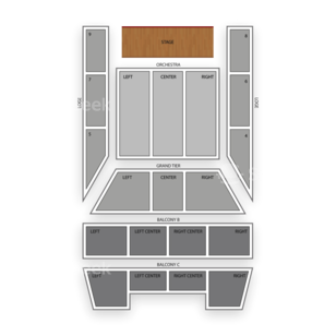 Springfield Symphony Hall Seating Chart Classical Orchestral Instrumental