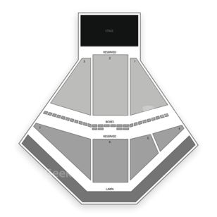 Red Hat Amphitheater Seating Chart Classical Orchestral Instrumental