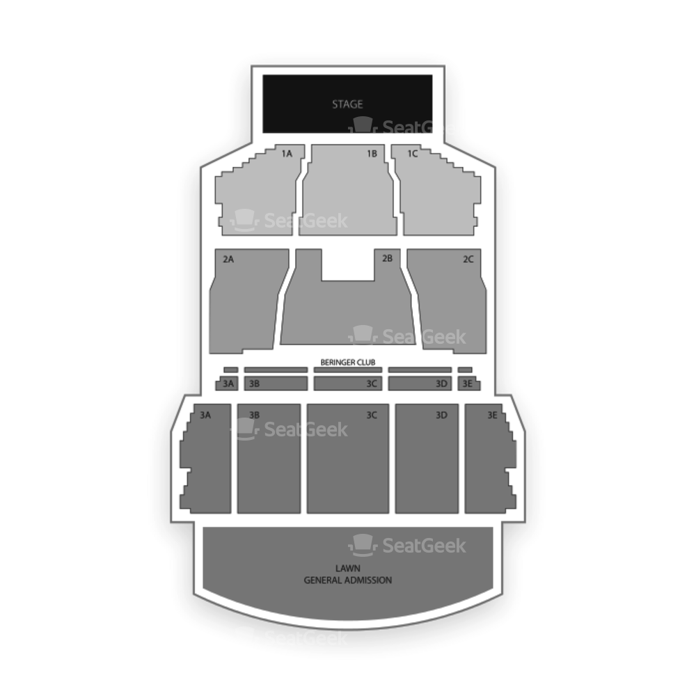 Bank of New Hampshire Pavilion Seating Chart Concert