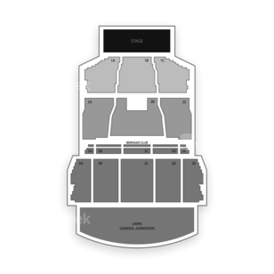 Bank of New Hampshire Pavilion at Meadowbrook Seating Chart Concert