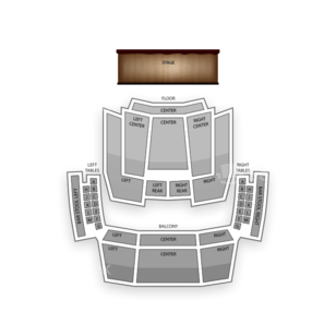 Hard Rock Live Seating Chart Dance Performance Tour