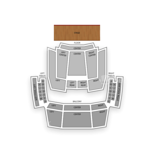 Hard Rock Live Seating Chart Comedy