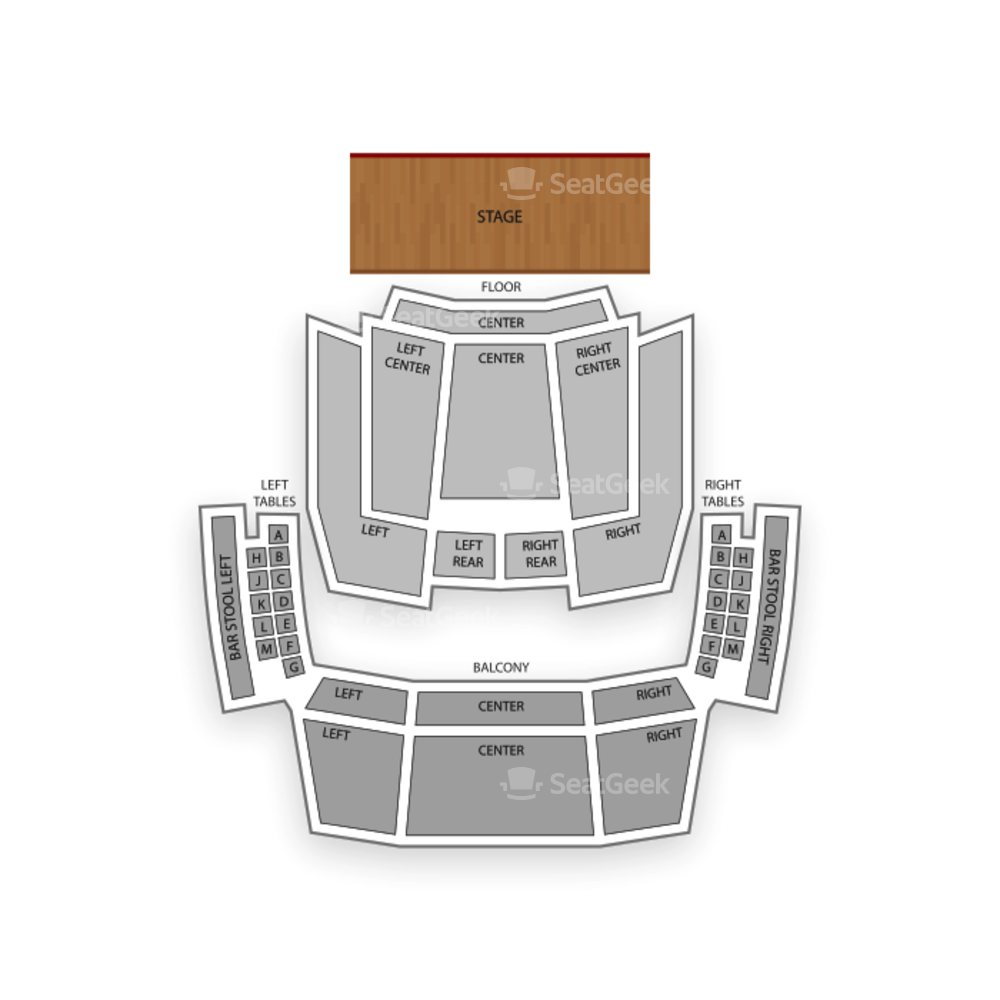 Hard Rock Live Orlando Seating Chart Comedy