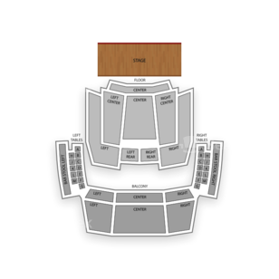 Hard Rock Live Seating Chart Theater