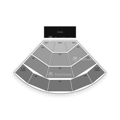 St Augustine Amphitheatre Seating Chart Concert