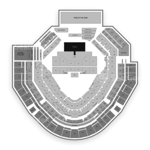 Petco Park Seating Chart Concert