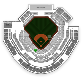 San Diego Padres at Petco Park Section 106 View