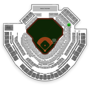 San Diego Padres at Petco Park Section 129 View