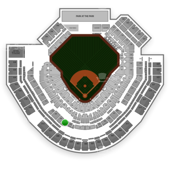 San Diego Padres at Petco Park Section 204 View