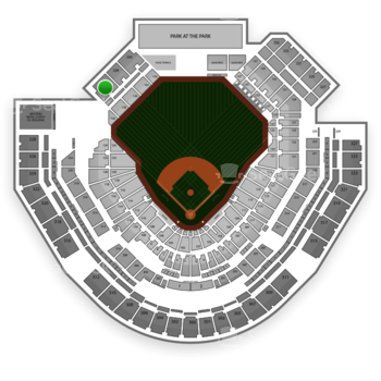 San Diego Padres at Petco Park Section 226 View
