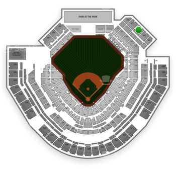 San Diego Padres at Petco Park Section 231 View