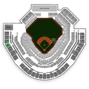 San Diego Padres at Petco Park Section 322 View