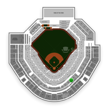 MLB at Petco Park Section 205 View