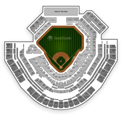 Petco Park Seating Chart