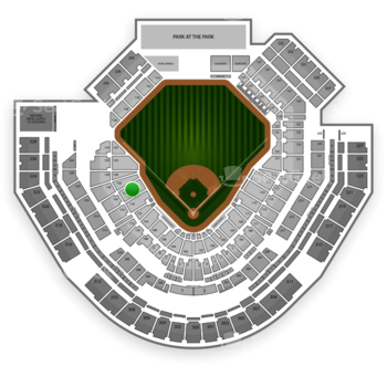 San Diego Padres at Petco Park Section 116 View