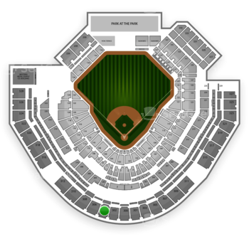 San Diego Padres at Petco Park Section 304 View