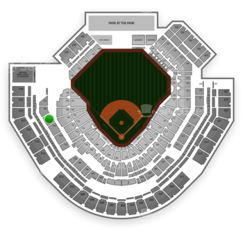 San Diego Padres at Petco Park Section 218 View