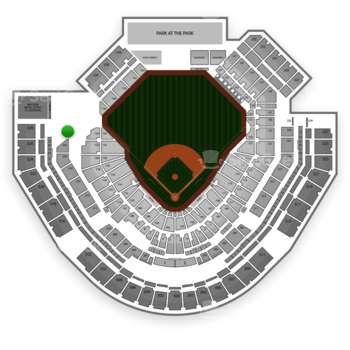 San Diego Padres at Petco Park Section 224 View