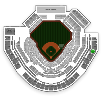 San Diego Padres at Petco Park Section 321 View