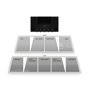 RFD TV the Theatre Seating Chart Concert