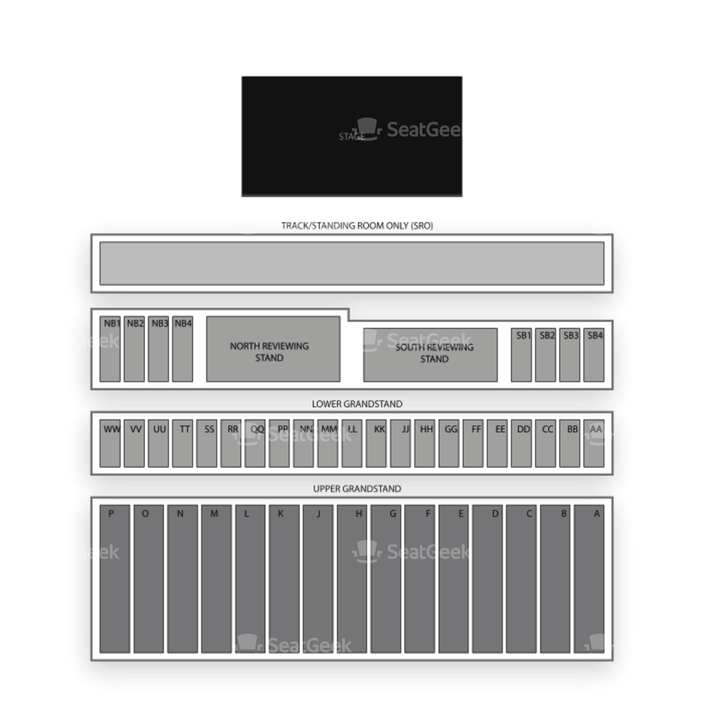 Illinois State Fairgrounds Seating Chart Concert