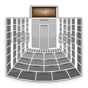Metropolitan Opera Seating Chart Theater