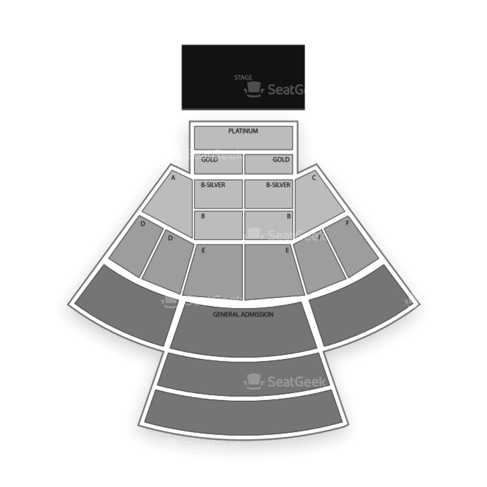 Ironstone Amphitheatre Seating Chart Concert