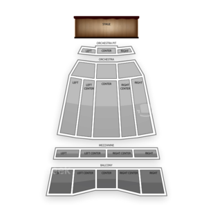 Sony Centre For The Performing Arts Seating Chart Theater