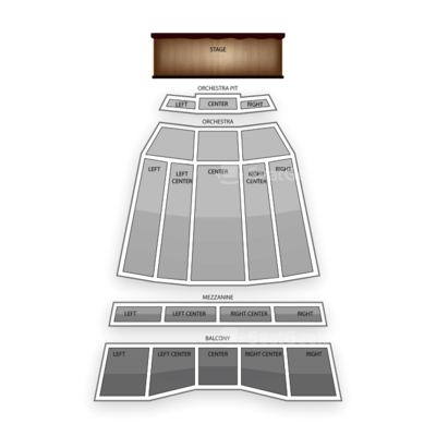 Sony Centre for the Performing Arts seating chart Eifman Ballet