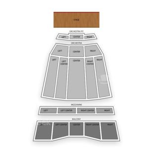Sony Centre For The Performing Arts Seating Chart Literary
