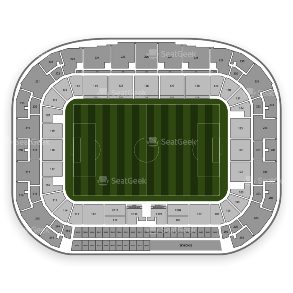 Red Bull Arena Seating Chart International Soccer