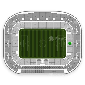 New York Red Bulls at Red Bull Arena Section 101 View