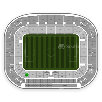New York Red Bulls at Red Bull Arena Section 113 View