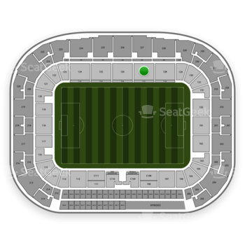 New York Red Bulls at Red Bull Arena Section 127 View