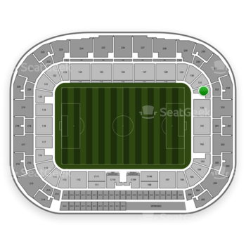 New York Red Bulls at Red Bull Arena Section 132 View