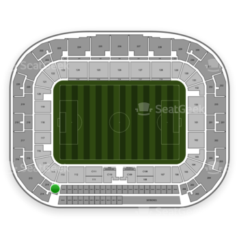 New York Red Bulls at Red Bull Arena Section 213 View