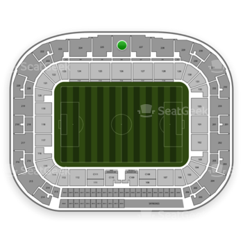 New York Red Bulls at Red Bull Arena Section 226 View