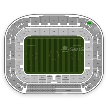 New York Red Bulls at Red Bull Arena Section 230 View