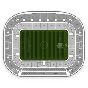 Red Bull Arena Seating Chart Mls