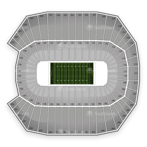 Rentschler Field Seating Chart